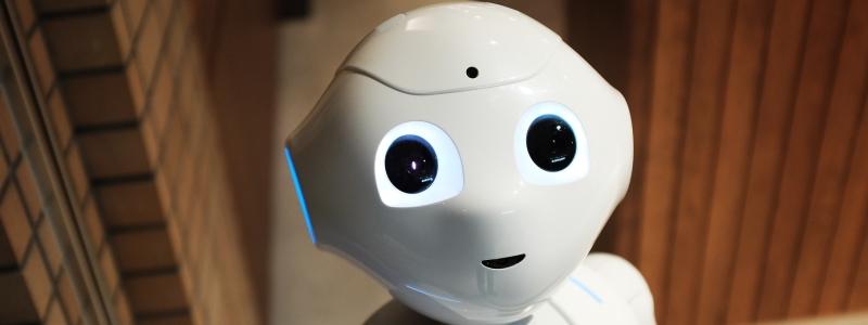 Robot, not human
