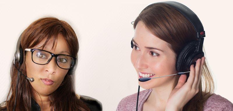 Headset users